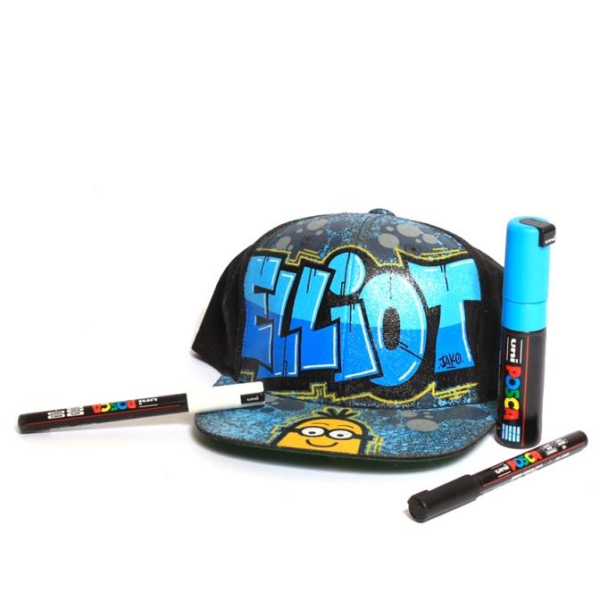2 après-midi Graff pour customiser ta casquette Snapback !