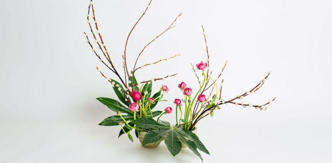 ART FLORAL – SEANCE A THEME «Ikebana»