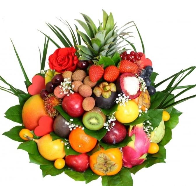 ART FLORAL – SEANCE A THEME  «Composition Fruits & Fleurs»
