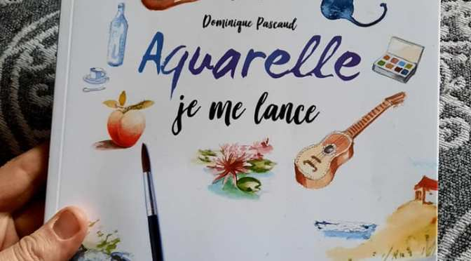 Aquarelle « Je me lance » par Dominique Pascaud